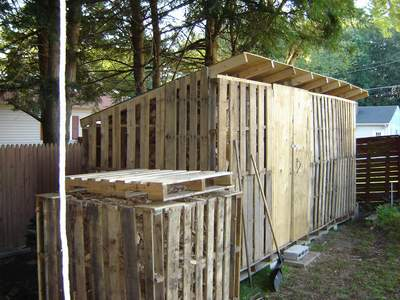 Pallet Furniture How To Build A Goat House With Wood