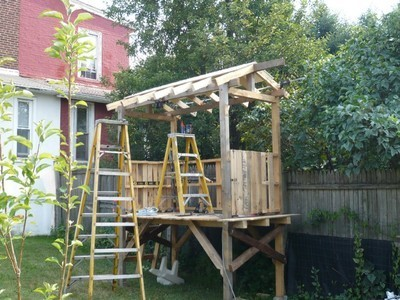 Hollans models building a shed from pallets guide for How to make a fort out of wood