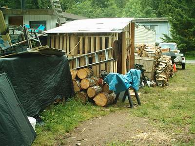 the pallet shed - Garden Sheds Vancouver Island