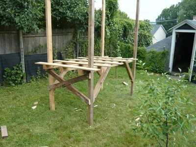 Forts made out of pallets just b cause for How to make a fort out of wood